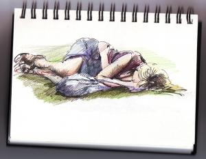 sleeping lady fringe